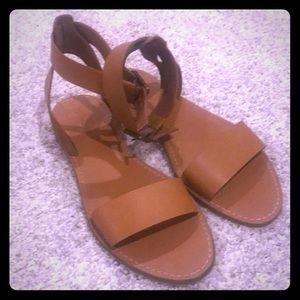 Madewell Boardwalk Ankle-Strap Sandal